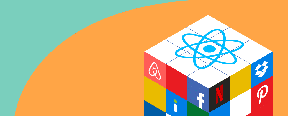 What popular websites are built with React